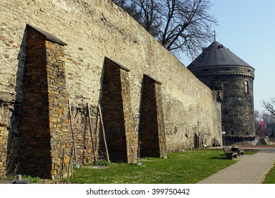 city wall and fortified tower, Germany