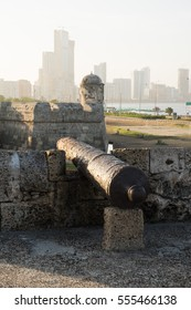 City walls of Cartagena, Colombia