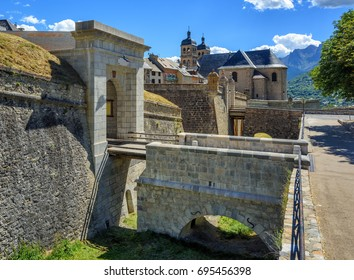 The City Walls of the Old Town of Briancon, built by Vauban, are Unesco World Culture Heritage site. Briancon is the highest city in France.