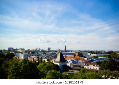 The city of Yaroslavl. Yaroslavl fortress.