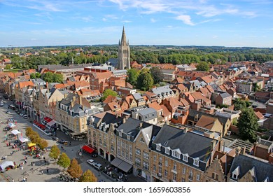 City of Ypres in Belgium
