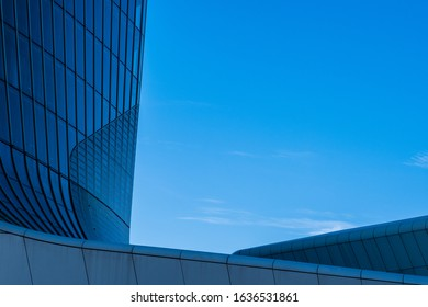 CityLife Business, Shopping and residential area in Milan, Italy. Architectural views
