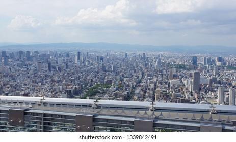 Cityscape from Abeno-Harukasu (Osaka)