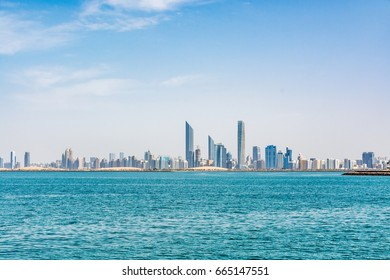 Cityscape of Abu Dhabi, United Arab Emirates