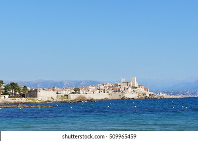 Cityscape of Antibes, France