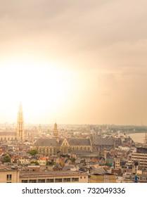 Cityscape of Antwerp, Belgium