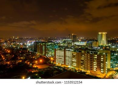 CityScape - Bangalore - Night Sky