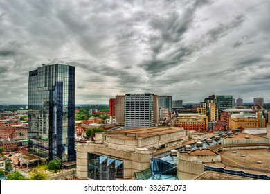 Cityscape of Birmingham, HDR-technique