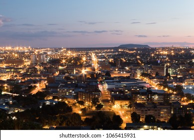 Cityscape of Bloemfontein from Naval Hill