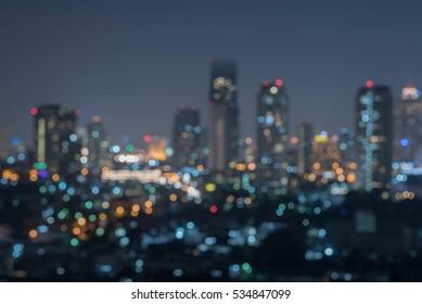 cityscape blur background