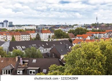 Cityscape of Bochum in Ruhr Area – Bochum, NRW, Germany, Europe