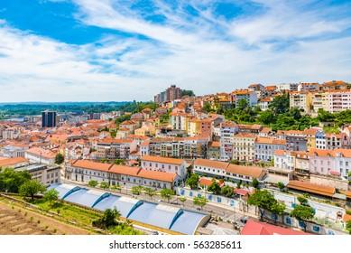 Cityscape of Coimbra, Portugal
