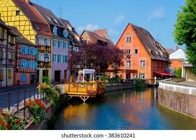 Cityscape of Colmar