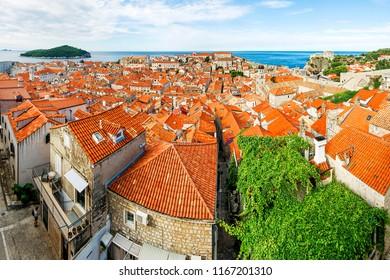 Cityscape of Dubrovnik (Croatia)