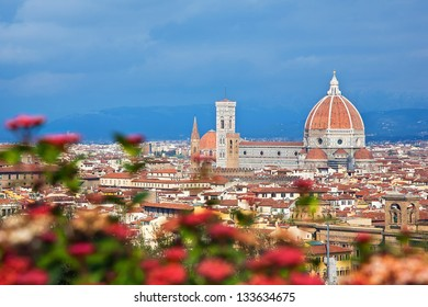 Cityscape of Florence, Italy