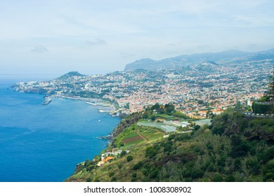 Cityscape of Funchal, Madeira island, Portugal