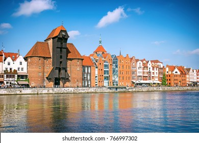 Cityscape of Gdansk, Poland