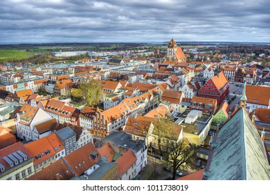 Cityscape of Greifswald (Germany)