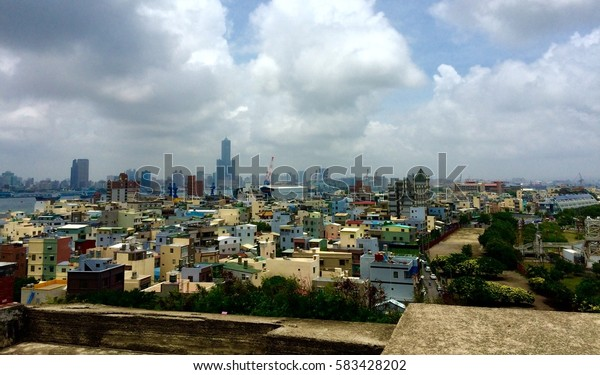 Cityscape of Kaohsiung, Taiwan