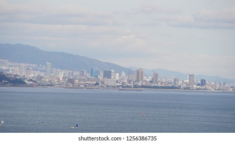 Cityscape of Kobe city