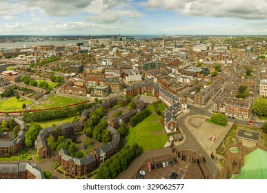 Cityscape of Liverpool (England)
