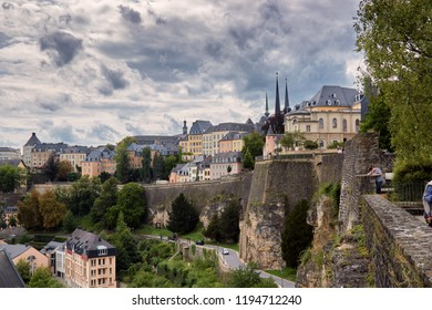 Cityscape of Luxembourg