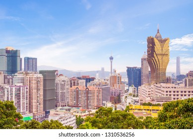 cityscape of macao (macau), china