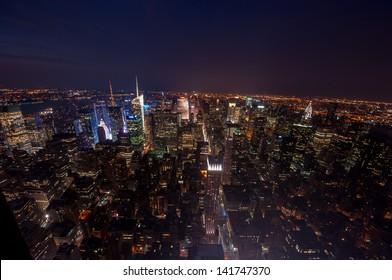 cityscape of Manhattan, New York, USA