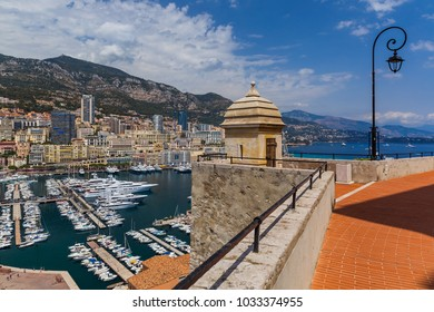 Cityscape of Monaco - travel and architecture background
