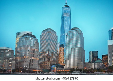 Cityscape in newyork city  of Manhattan