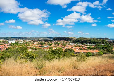 Cityscape of Oeiras from the top of a hill - Piaui state, Brazil