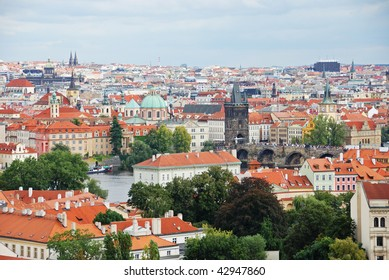 Cityscape of old Prague in Czech Republic, Europe.
