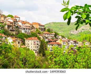 Cityscape Old Town Veliko Tarnovo, Bulgaria