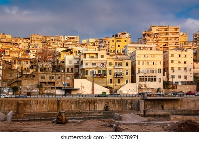 Cityscape of old Tripoli, Lebanon