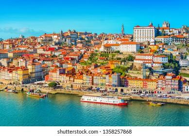 Cityscape of Porto (Oporto), Portugal