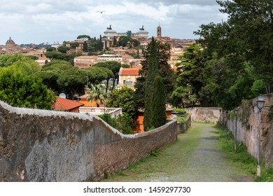 Cityscape of Rome by day, Italy