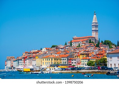 Cityscape of Rovinj in Croatia