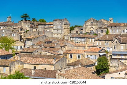 Cityscape of Saint-Emilion town, a UNESCO world heritage site in France