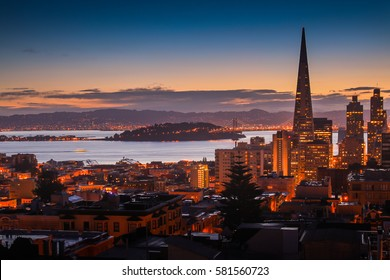 Cityscape of San Francisco Bay