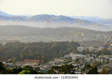 Cityscape of San Francisco in California, United States