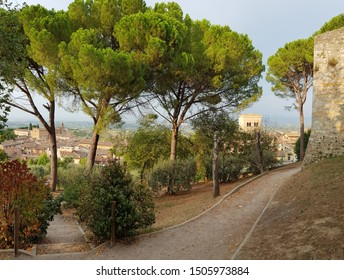 cityscape of San Gimignano in Tuscany