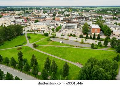 Cityscape of Seinajoki (Finland)