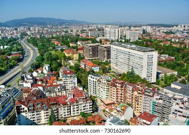 Cityscape of Sofia (Bulgaria), HDR-technique