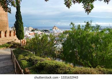 cityscape of Almería, Spain
