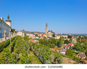 Cityscape with St. James church in Kutna Hora, Czech Republic