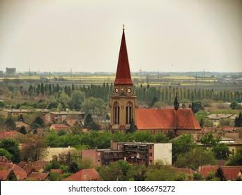 Cityscape in  Subotica