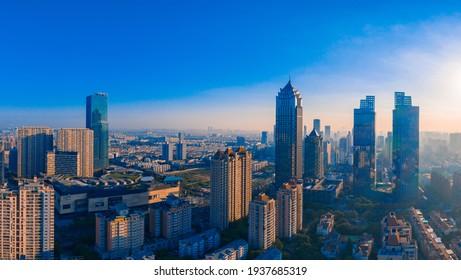 Cityscape of Suzhou City, Jiangsu Province, China