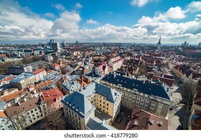Cityscape of Tallin
