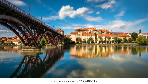 Cityscape of town / Maribor