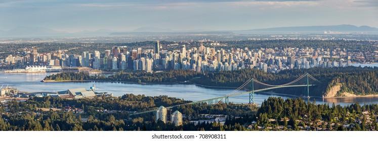 cityscape of Vancouver, BC, Canada